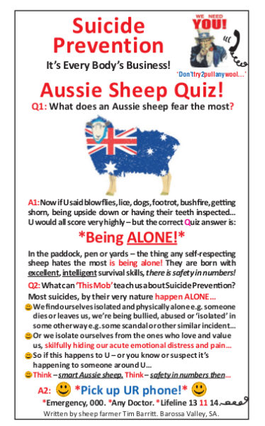Aussie Sheep Quiz2